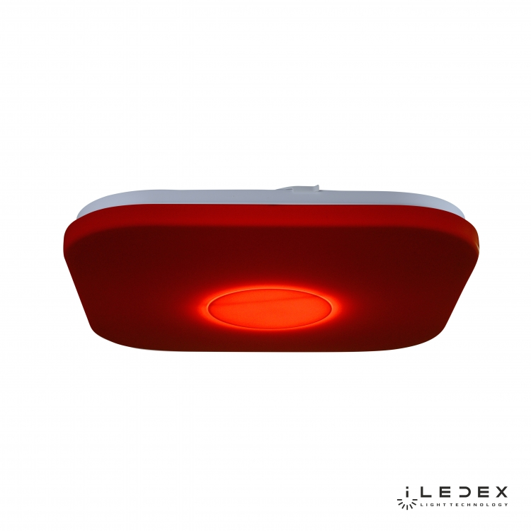 Потолочный светильник iLedex Jupiter 24W Square RGB Opaque Entire